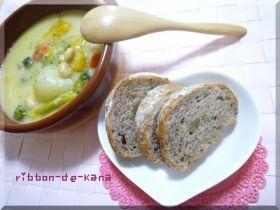 「胡桃たっぷりライ麦パン」Kana   お菓子・パンのレシピや作り方【corecle*コレクル】