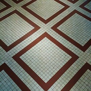 You have walked on this tiled floor thousands of times. #UCHCEU #University #Cafetería