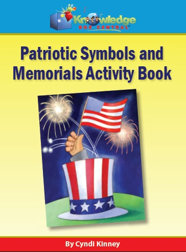 Patriotic Symbols & Memorials Activity Book - EBOOK
