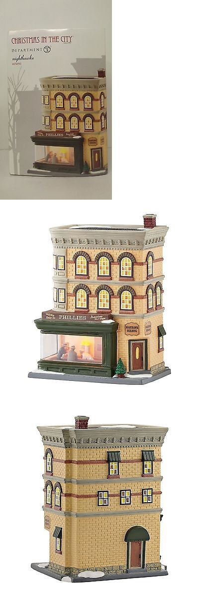 Christmas Collectible Department 56: Dept 56 Christmas In The City Nighthawks 4050911 New Mip -> BUY IT NOW ONLY: $159.95 on eBay!
