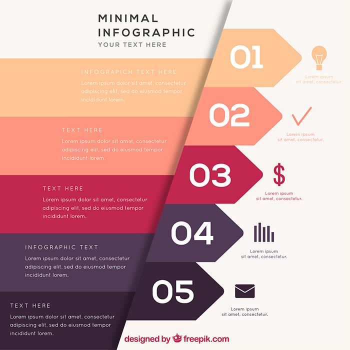 infographic-template-in-minimal-style