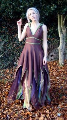 Fae dress  by Zizzyfay
