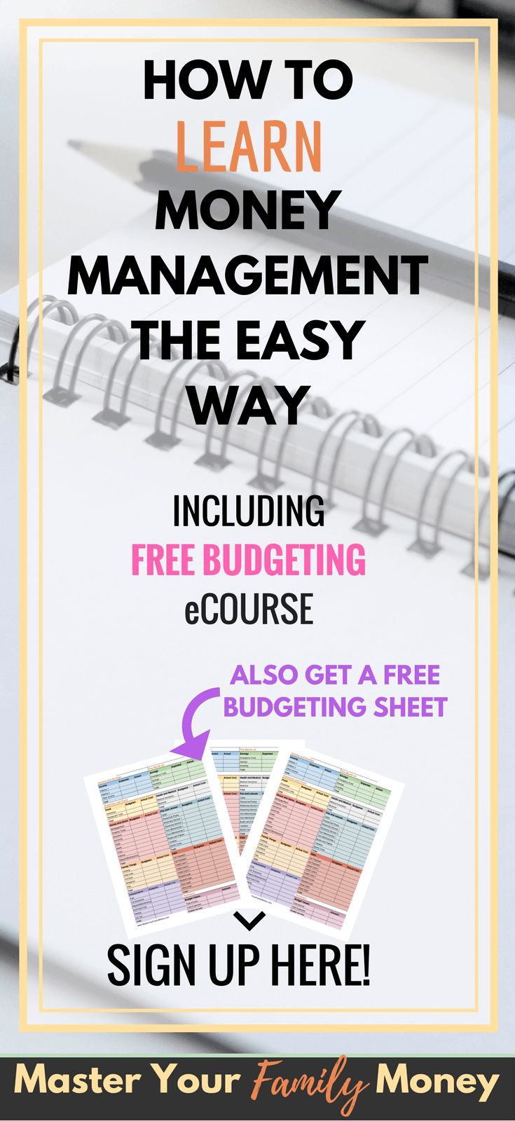 If you need to learn money management this page is a good resource for you with a list of articles that can get you started. Check it out now or pin it for later!