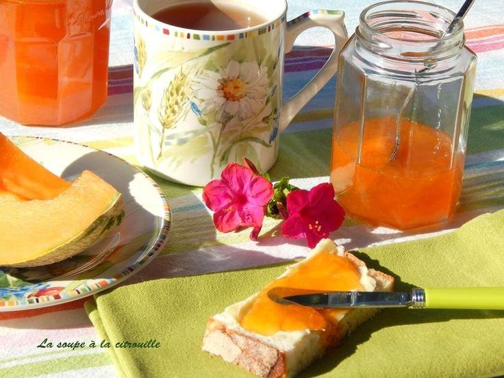 Confiture de melon à la vanille et au Cognac