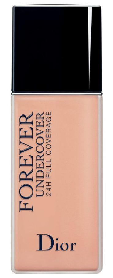 skin forever undercover 24-hour full coverage water-based foundation by Dior. What it is: An extreme-wear, ultra-fluid water-based foundation that blends full coverage with a lightweight formula to deliver a natural matte second skin that goes from day to night. Who it's for: Anyone who wants full-coverage color a... #dior #makeup #beauty