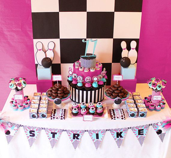 66 Best Kids Bowling Party Ideas Images On Pinterest