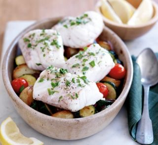 Easy fish bake   Healthy Food Guide