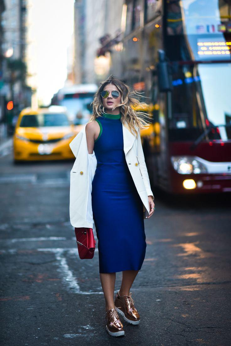 Look NYFW: Vestido Midi
