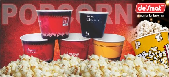 Make the popcorn party with your love one's with the popcorn tub of de'Smat. We are the best seller of the ‪#‎popcorn‬ tub having a ‪#‎FoodGrade‬ and ‪#‎FoodGradeInk‬, which is ‪#‎FDA‬ Guided. #new #images #products #popcorntub #popcorn #movie #desmat #buy #rational #logistics #aviation #retail #tickets