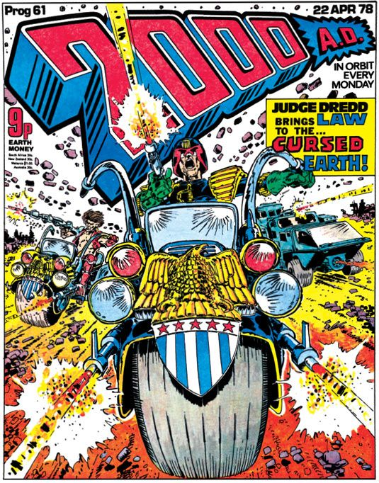 The art of Judge Dredd: 20 killer 2000 AD covers | Comics | Creative Bloq
