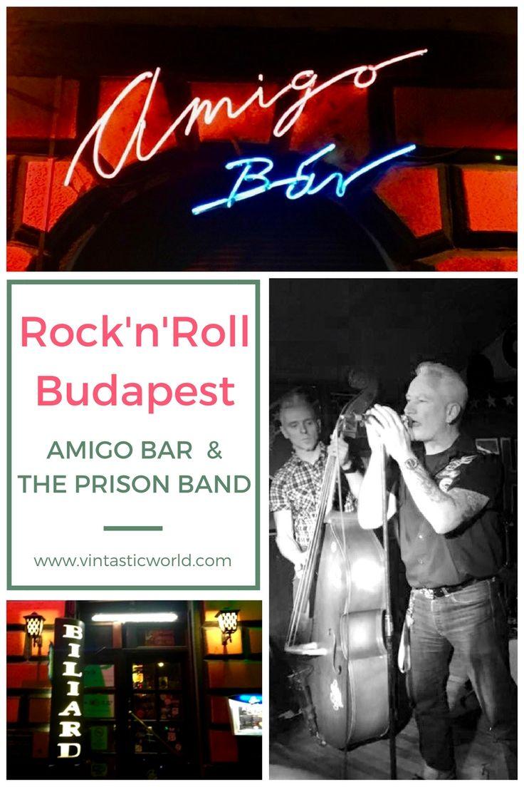 Rock and Roll in Budapest. Das Herz der Rockabilly Szene in Budapest, Ungarn. Ein Bericht über die Amigo Bar und den Live-Auftritt der Prison Band.