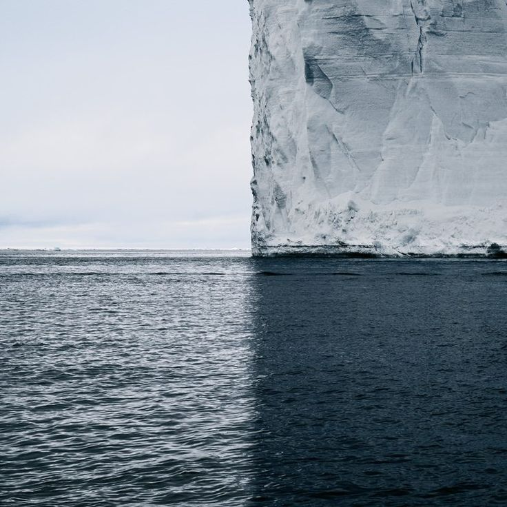 This Iceberg And Its Shadow Divide The View Into 4 Symmetric Quadrants > Follow for more updates @ http://ift.tt/1tcr3ea Follow us on Facebook http://ift.tt/1ZBR6Ym