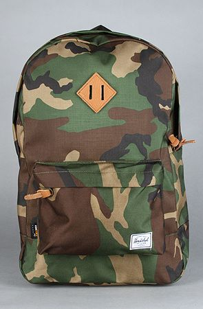 The Heritage Cordura Backpack in Camo by HERSCHEL SUPPLY at karmaloop.com - MUST BUY
