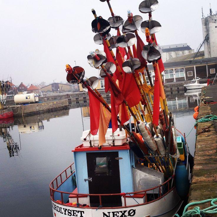Fiskerbåd ved Nexø