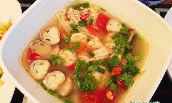 Canh tôm chua kiểu Thái – Tom Yum Kung | Món ngon mỗi ngày | Món ăn ngon | Món ngon Việt Nam