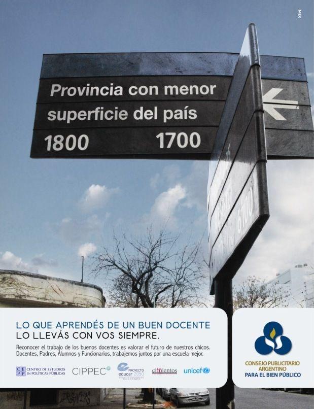 El docente como pilar fundamental en la base de una buena educación, es el eje central de la nueva campaña del Consejo Publicitario Argentino. Busca revalorizar el rol de los buenos docentes y su importancia en la construcción de un mejor futuro para los chicos.