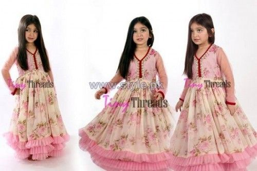 Tiny Threads Kids Shirts, Trousers Dresses Designs 2014