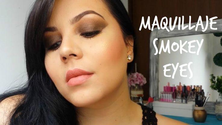 Maquillaje Smokey Eyes en tonos café