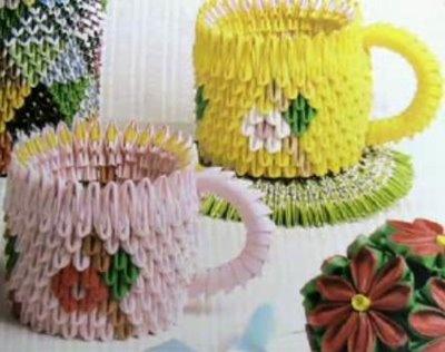 3D+Modular+Origami | Artesanato Origami modular - origami 3d - ! #By Marizinha !
