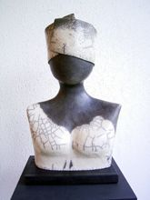 L'Atelier d'Anduze: buste raku