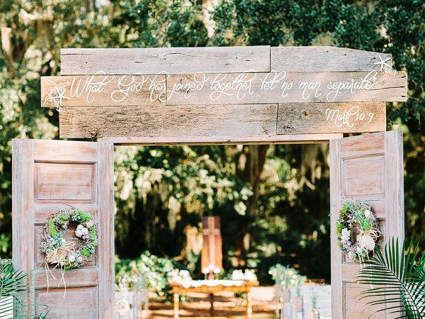 wedding Art Wedding, Outdoor Wedding, Outdoor Ceremony, Hilton Head
