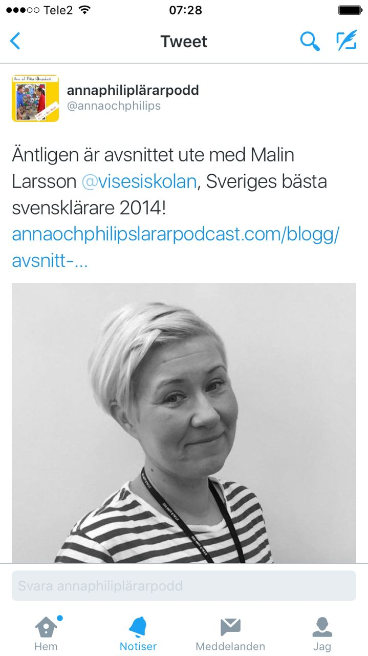 intervju med mig i Sveriges största lärarpodcast - Anna och Philips lärarpodcast...