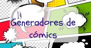 14 Generadores de cómics y dibujos animados. Comic Strip Speech Bubbles