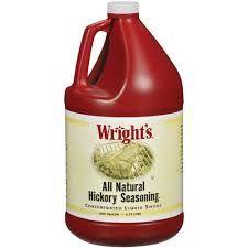 Wrights Liquid Smoke Hickory 1 Gallon