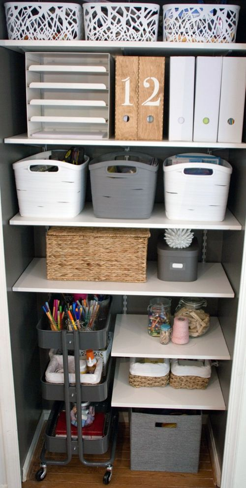home office  organizing  storage ideas  See More  36 Creative Ways To  Use The R SKOG Ikea Kitchen CartBest 25  Office storage ideas on Pinterest   Organizing small  . Pinterest Home Office Storage Ideas. Home Design Ideas
