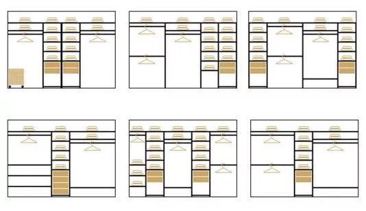 Белые шкафы. 12 стильных идей.