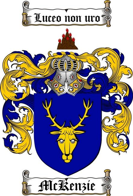MCKENZIE FAMILY CREST - COAT OF ARMS gifts at www.4crests ...