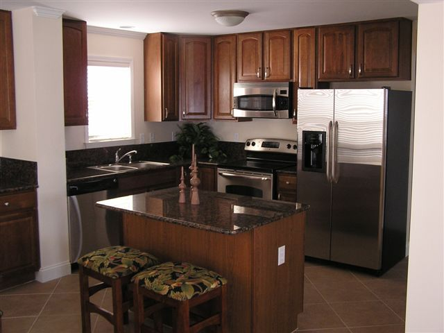 Kitchen Design With Oak Cabinets And Stainless Steel Appliances | ... , And  Stainless
