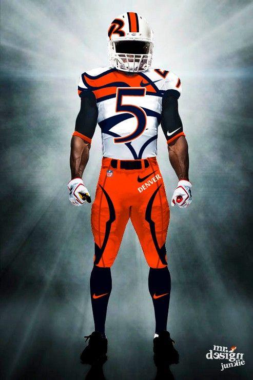 denver broncos | Denver Broncos Uniform Concept (4)