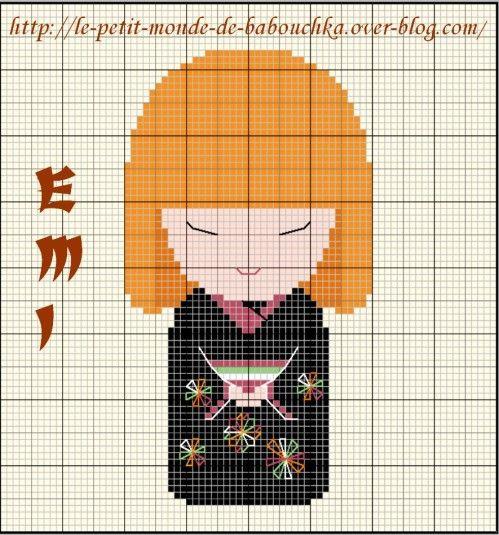 Les frees.... Youpi !!! - J'ai… - Hibiscus... Fleur… - J'arrête les… - … - Un Tiki... ça vous… - Nanami brodée avec… - Un papillon… - Et voici Tomomi,… - Un petit free… - Une magnifique… - Le blog de Babeth