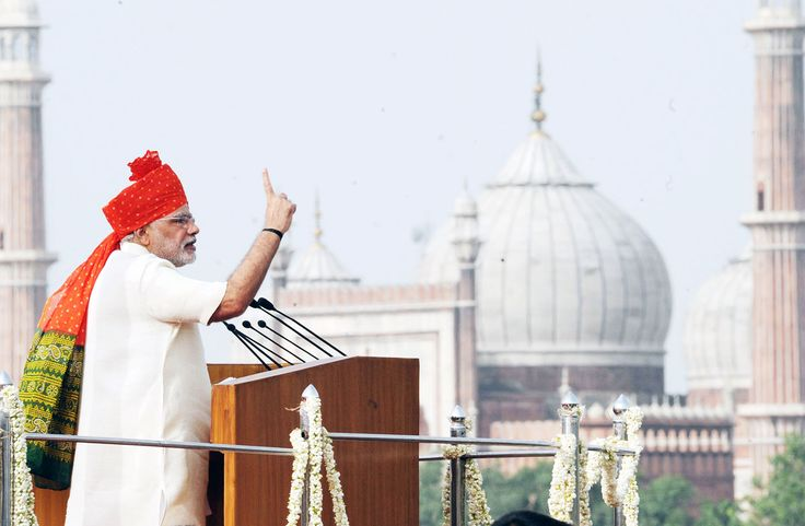PM #Narendra_Modi : We have 4 Normal Things That makes a huge #development of all people's in India!