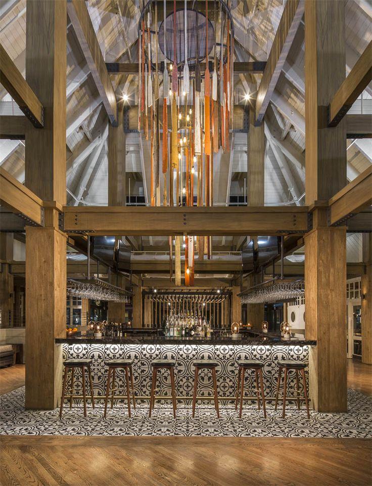 Boatyard Restaurant – Hotel, Restaurant & Nightclub Design by Big Time Design Studios