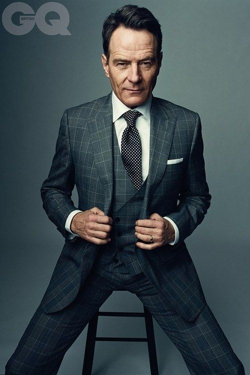 iqfashion:  Bryan Cranston. Source: GQ UK - Bad Man Rising!