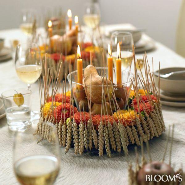 tischdeko im herbst ppiges erntedankfest blooms pinterest erntedankfest tischdeko und. Black Bedroom Furniture Sets. Home Design Ideas