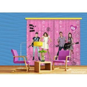 Violetta és bandája függöny, blackout (280 x 245 cm)