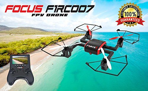 Focus FPV Drone with HD Camera and Live Video Feed – 720P Camera Drone Quadcopter with WiFi, Return Home & Headless Mode – Great Beginner Drone and Gift For Kids or Adults – Extra Batteries Included