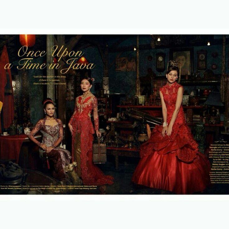 Dola'Ap Kebaya Bride //Elok Re Napio