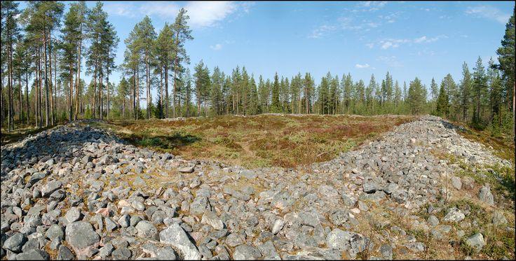 Jätinkirkko (Giant's Chuch) at Pattijoki, Ostrobothnia Finland