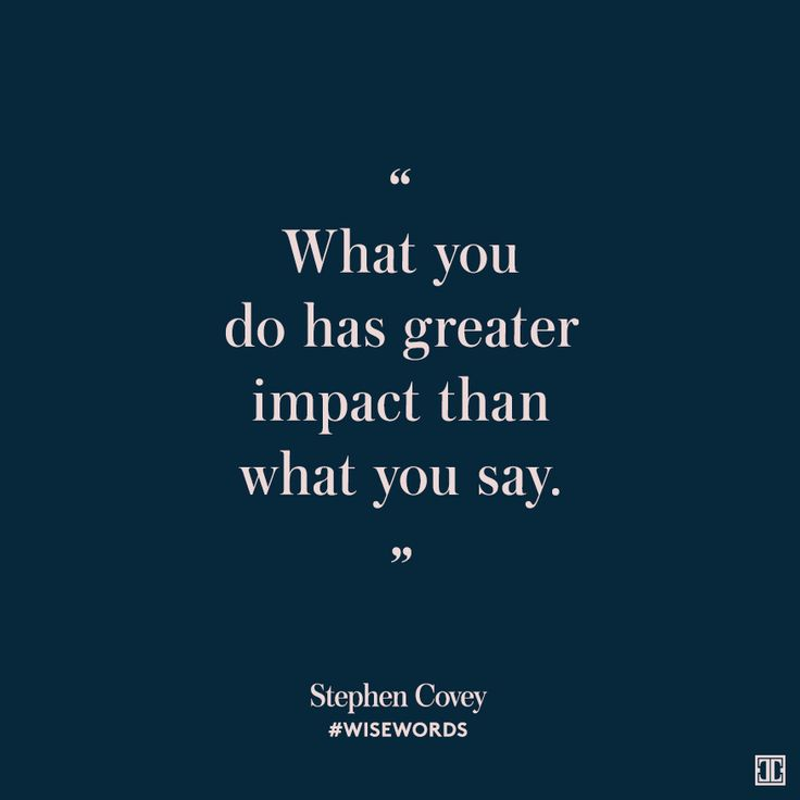 #WiseWords from Stephen Covey