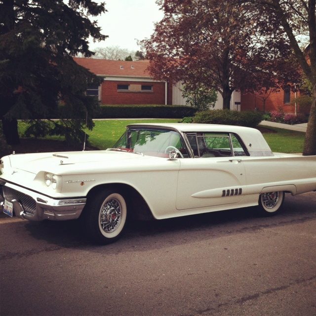42 Best Images About 1958 Ford Thunderbird On Pinterest