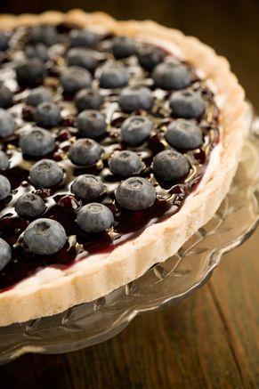Paula Deen Blueberry Tart: Bobby S Lighter, Deen S, Recipe, Bobbys Lighter, Lighter Blueberry, Blueberry Tarts, Blueberries, Paula Deen, Dessert