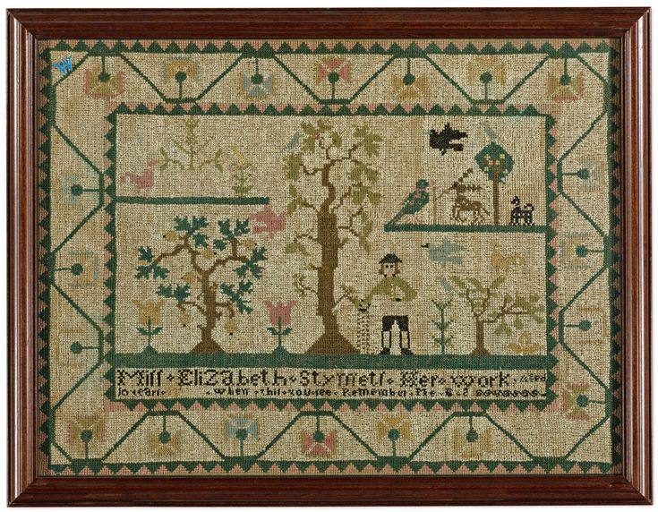 Best samplers and needlework images on pinterest