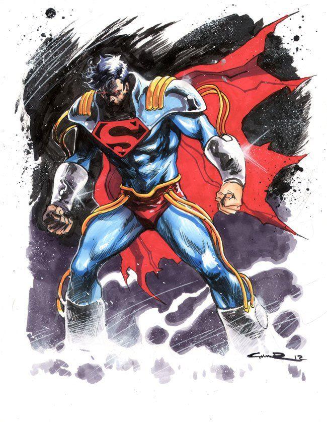 Superboy Prime by Yildiray Cinar *