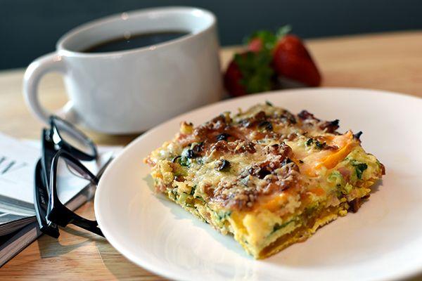 Breakfast Frittata - Weber