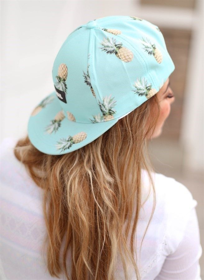 Trendy Pineapple Beach Bum Hat