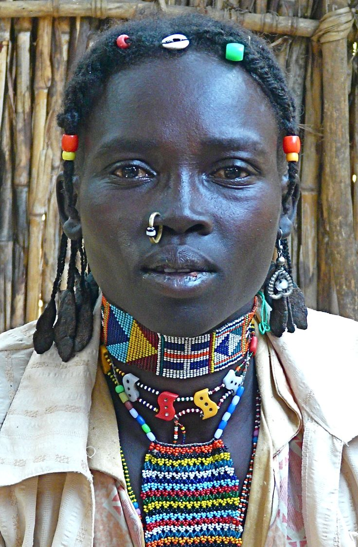 Nuba Woman African Tribes African Braids African